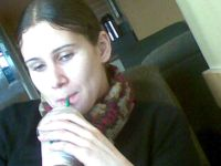 me enjoying a frappuccino!